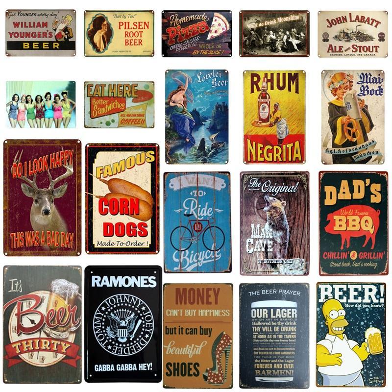 Metal Tin Sign dad/'s root beer  Bar Pub Home Vintage Retro Poster Cafe ART