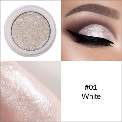Fashion Makeup Eye Shadow Soft Glitter Shimmering Colors Eyeshadow Metallic Eye Cosmetic