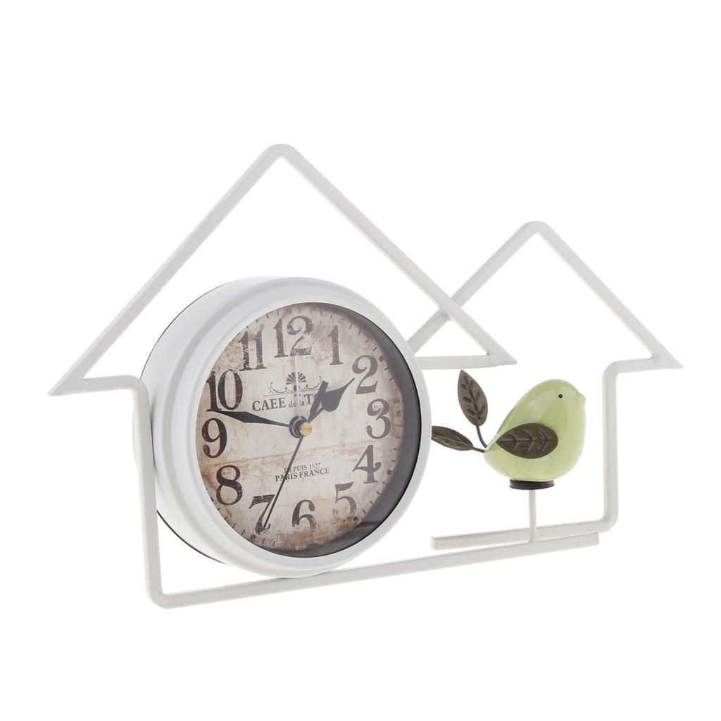 Vintage Style Retro Decorative Rustic Clock For Bedroom Kitchen Decor White Buy At A Low Prices On Joom E Commerce Platform
