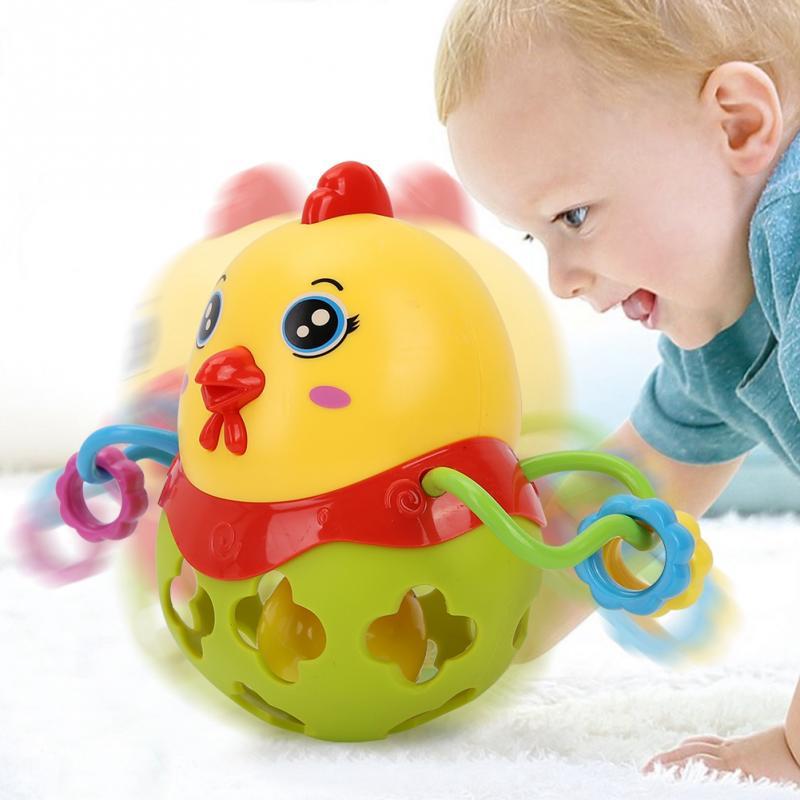 Jouet Voiture B/éb/é doux main saisir trou Bell anneau voiture mignon dentition hochet jouets pour enfants