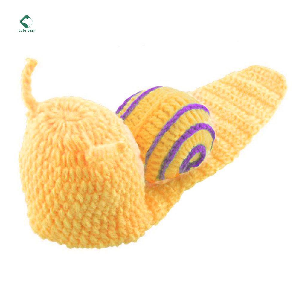af074758f Caracol hecho a mano marca nuevo Crochet foto traje recién traje ...