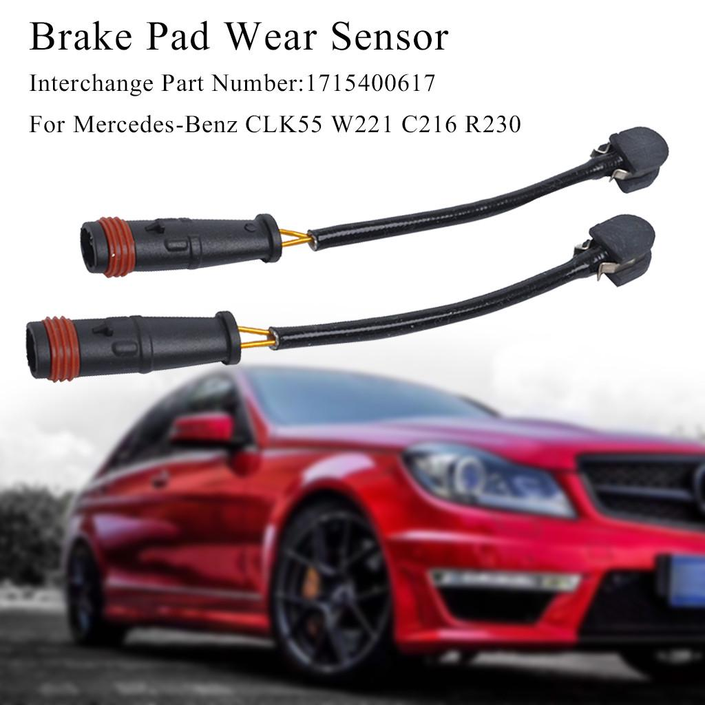 2pcs Rear Premium Quality 1715400617 Mercedes-Benz Brake Pad Sensor Front