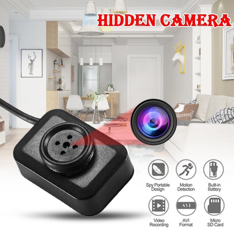 HD Hidden Camera DVR HD 1080P Pinhole covert SPY Camera Recorder Video screw