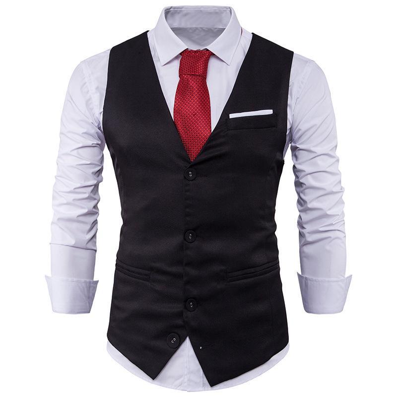 561494a7432 Caballero traje chaleco venta pecho lucha Color solo fila tres hebilla de  hombres - comprar a precios bajos en la tienda en línea Joom