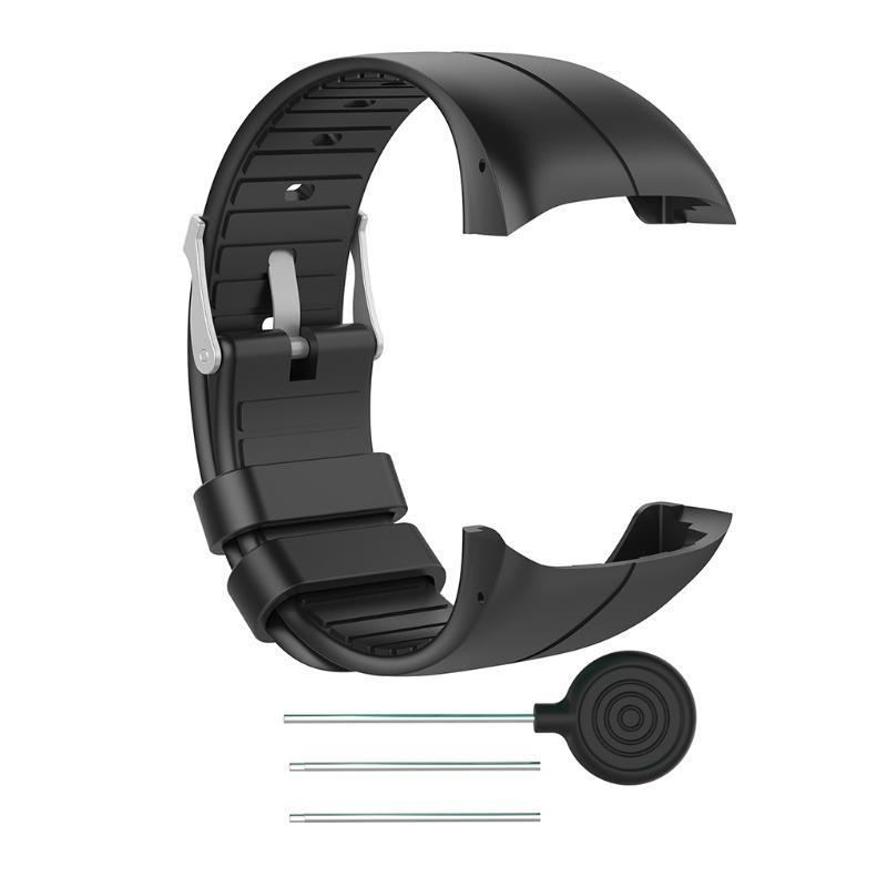 Smartwatch Fitness Armband TPE rot für Polar M400 M430