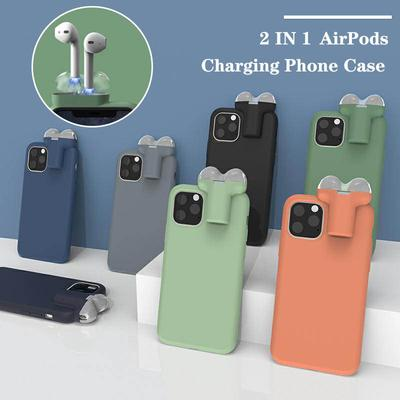 Fashion 2 In1 For Apple AirPods 1 with Charging Box For iPhone 11  iPhone 11 Pro  iPhone 11 Pro Max