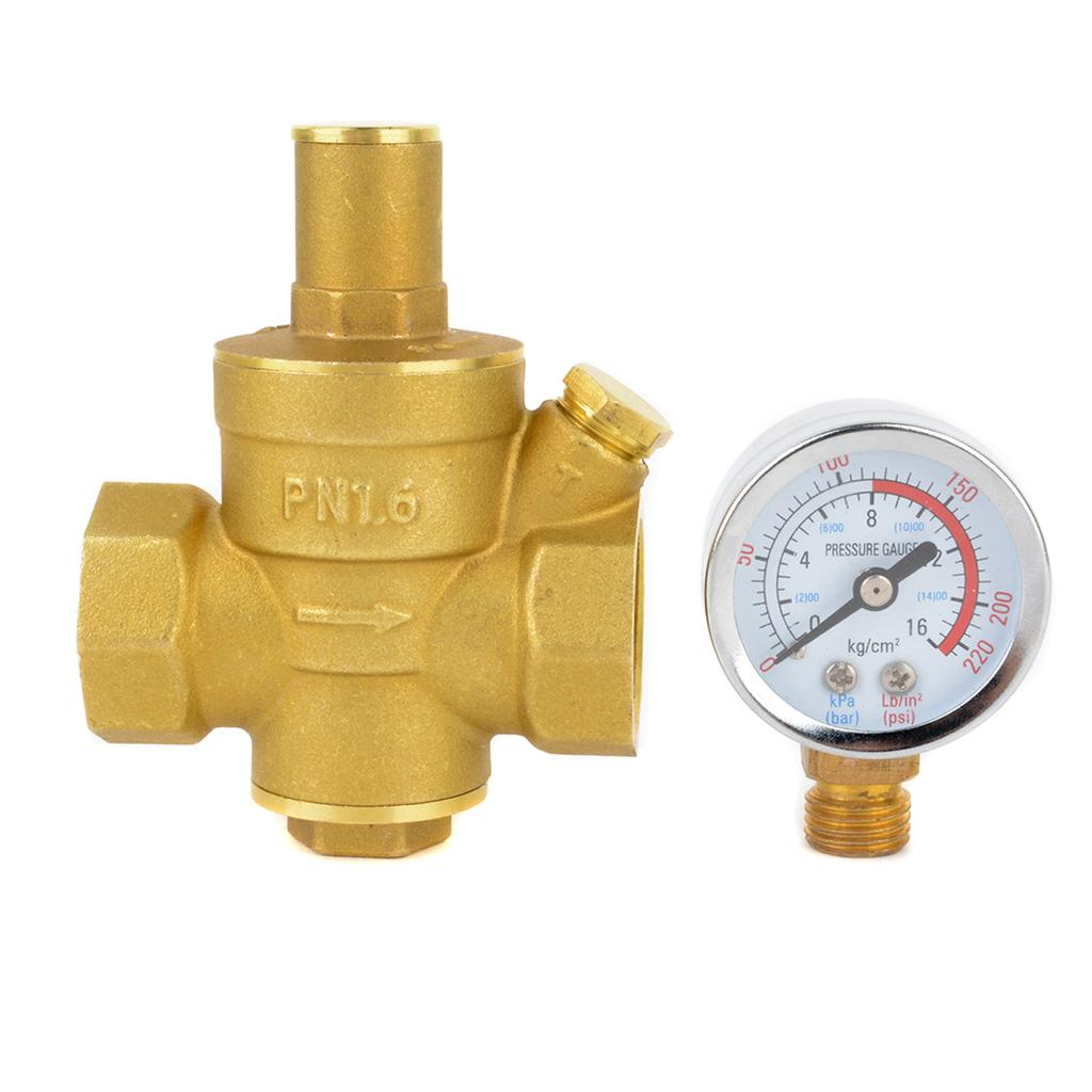 Details about  /Water Pressure Regulator DN20 Adjustable Water Pressure Regulator Regulating