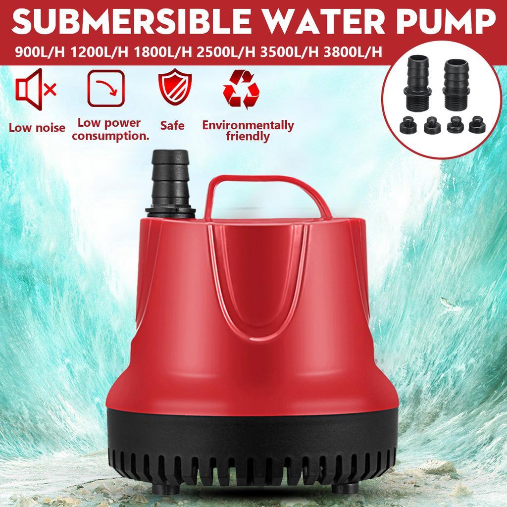 900-3800L//H 220-240V Submersible Water Pump Aquarium Fish Pond Tank Spout Marin