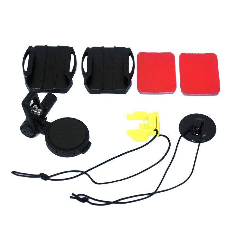 Casco Ajustable lado curvado adhesivo mount kit para cámara Sony VCT-HSM1 reemplazar