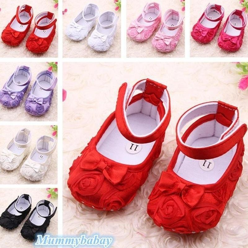 Newborn Baby Princess Girls Shoes Sandals Infant Toddler ...
