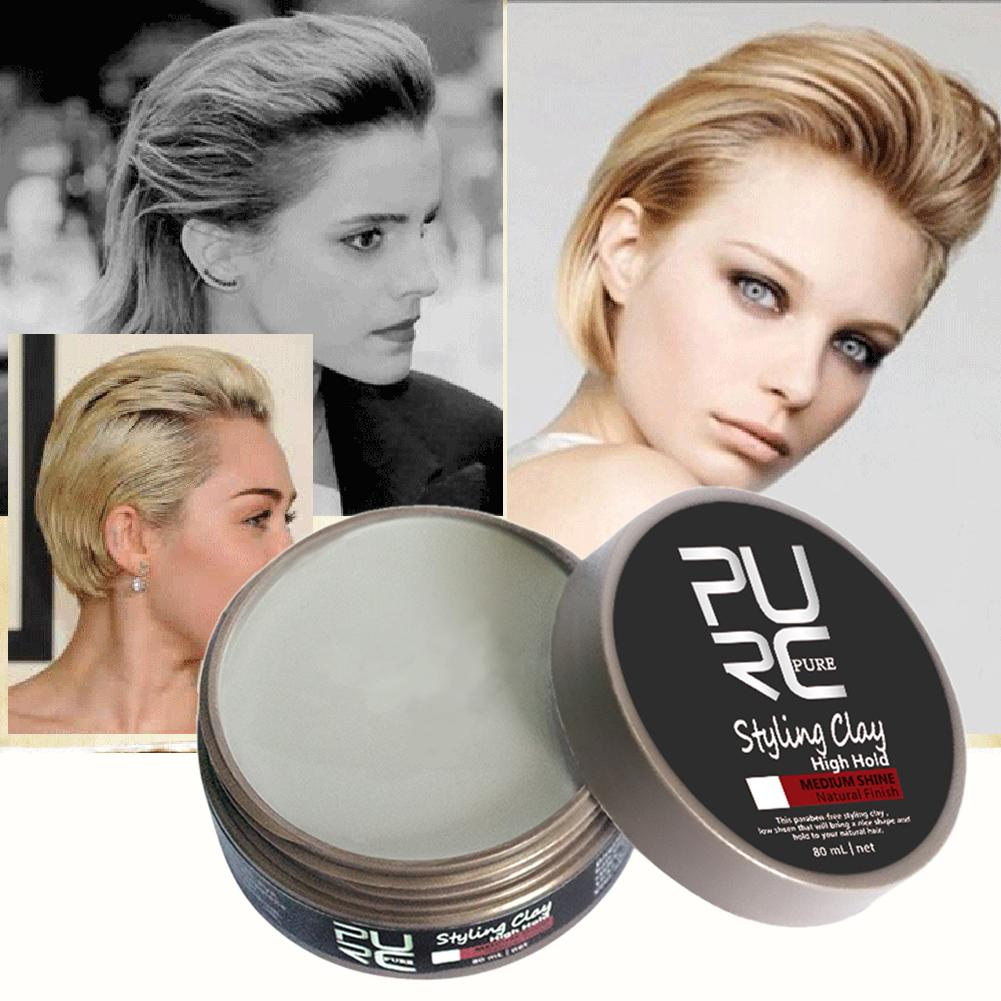 Hair Styling Clay Strong Hold Medium Shine Natural Look Hair Product Buy At A Low Prices On Joom E Commerce Platform