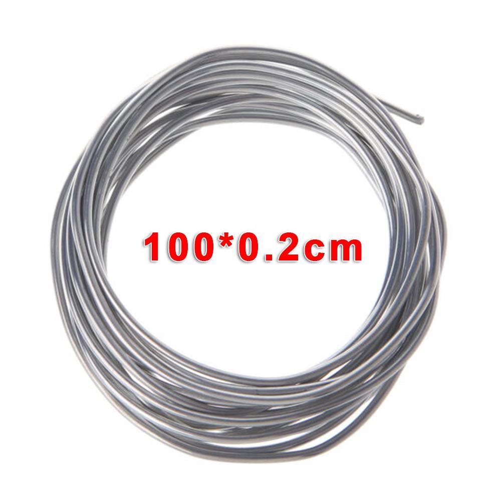 Aluminium Welding Rod Durable Low Temperature Corrosion Resistance Wire Cored