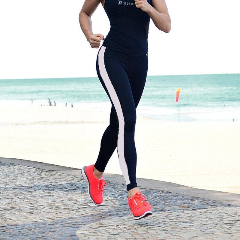 Леггинсы женщин работает йога фитнес леггинсы тренажерный зал спортивные брюки сжатия брюки – купить по низким ценам в интернет-магазине Joom