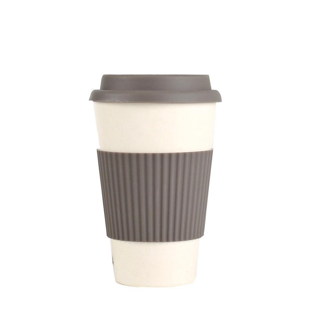 Travel Mug with Lid Reusable Coffee Cup Eco-Friendly Cup Glass 330ml//12oz