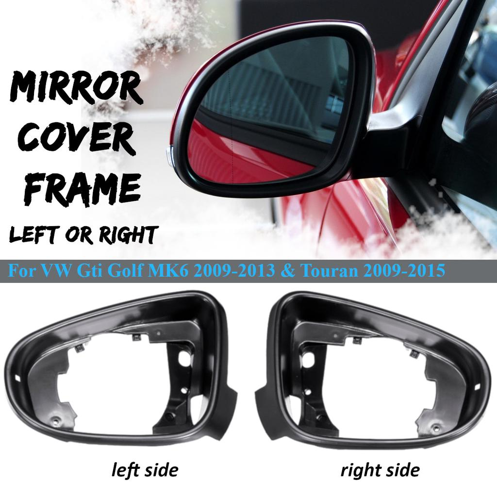 Car Door Wing Mirror Interior Frame Trim For Vw Gti Golf Mk6 09 13 Touran 09 15 Buy At A Low Prices On Joom E Commerce Platform