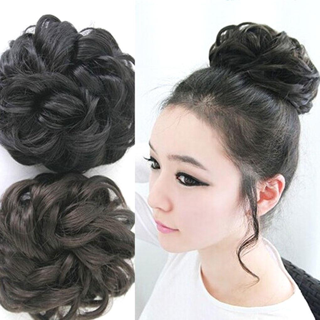 Шиньон волнистые волосы для женщин – купить по низким ценам в интернет-магазине Joom