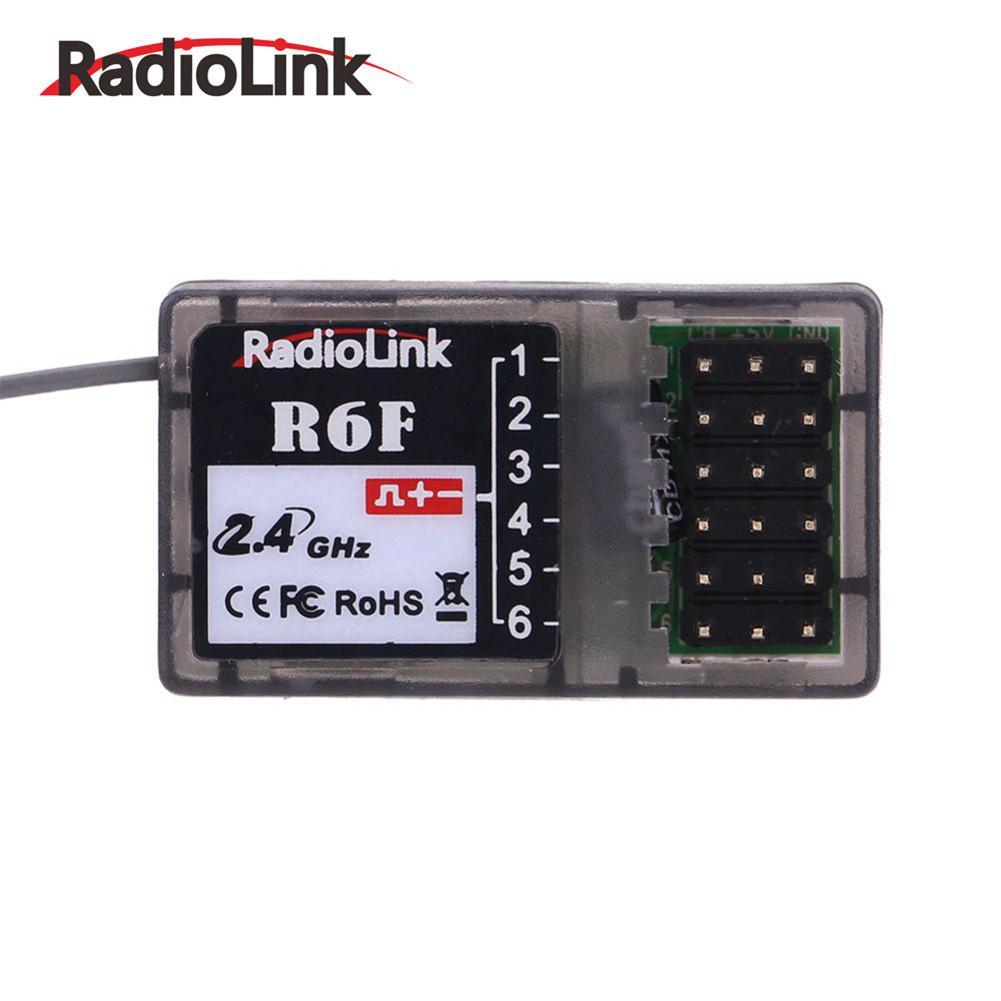Radiolink R6FG 6CH RC Receiver With Gyro Integrated 2.4G HV Servo Drifting Toys