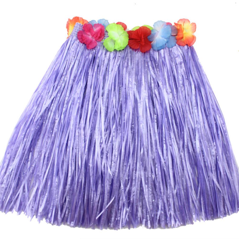Vestido de hierba falda Hula falda Lei traje Luau Party Dance playa ...