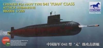 Modellbausatz German Long Range Submarine Type U-IX A Unbekannt Bronco Models NB5008