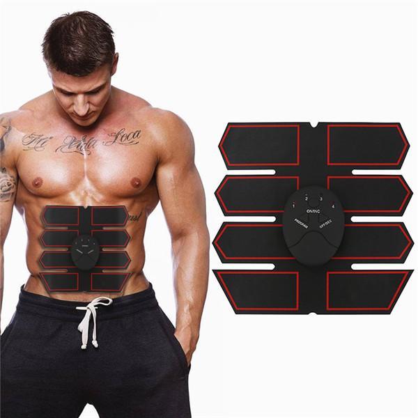 Брюшной конечной тонкий Abs брюшной мышцы стимулятор шесть режимов смарт электрические мышц массажер электрические системы электрические расчеты программирование и оптимизация режимов