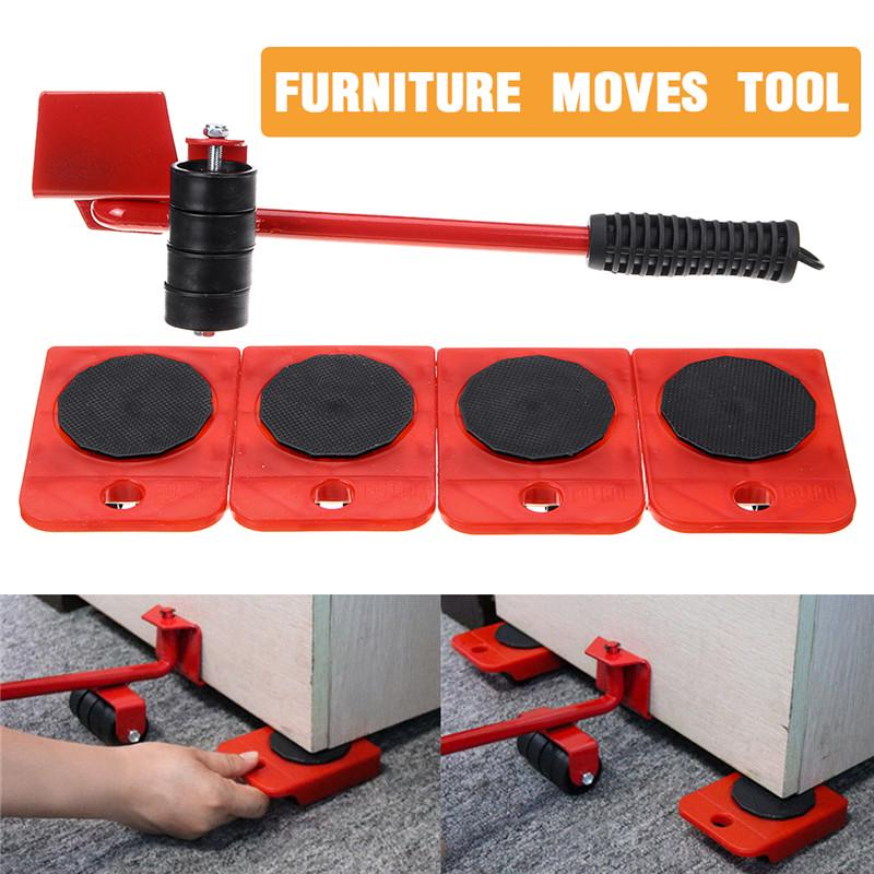 Heavy Duty Furniture Mover Roller Sofa Couch Moving Device Handling Tool