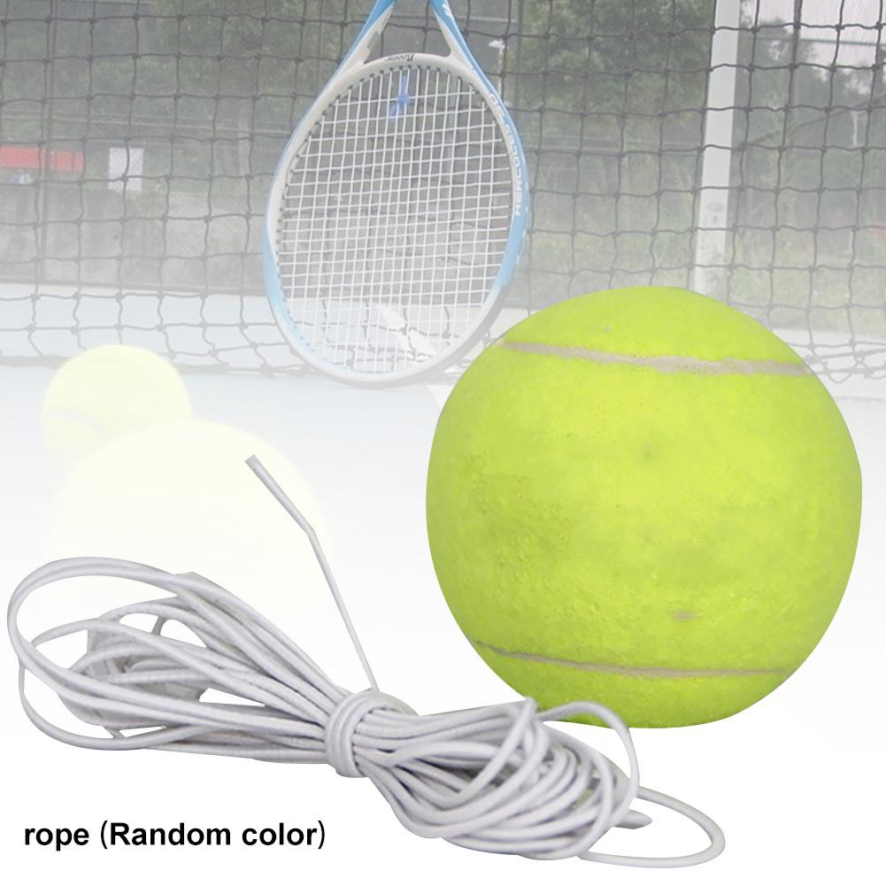 Tennis Training Ball Elastic Rope Ball On Elastic String Practice Y0W6