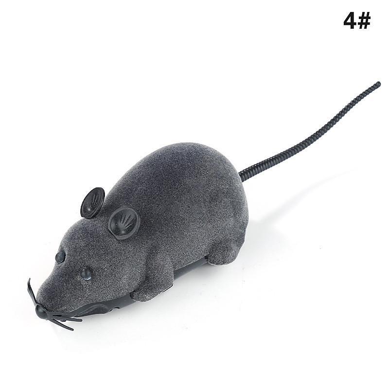 Haustierbedarf Spielzeug RC Elektronische Ratte Maus Spielzeug mit Fernbedienung für Katzen Hunde Baby