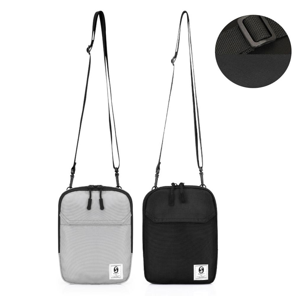 Unisex Messenger Bag Alphabet Leter Shoulder Chest Cross Body Backpack Bag