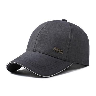 Primavera béisbol cap hombre hueso snapback caps sombreros protección solar  papá sombrero drake gris otoño hombres b9a6fbb3389