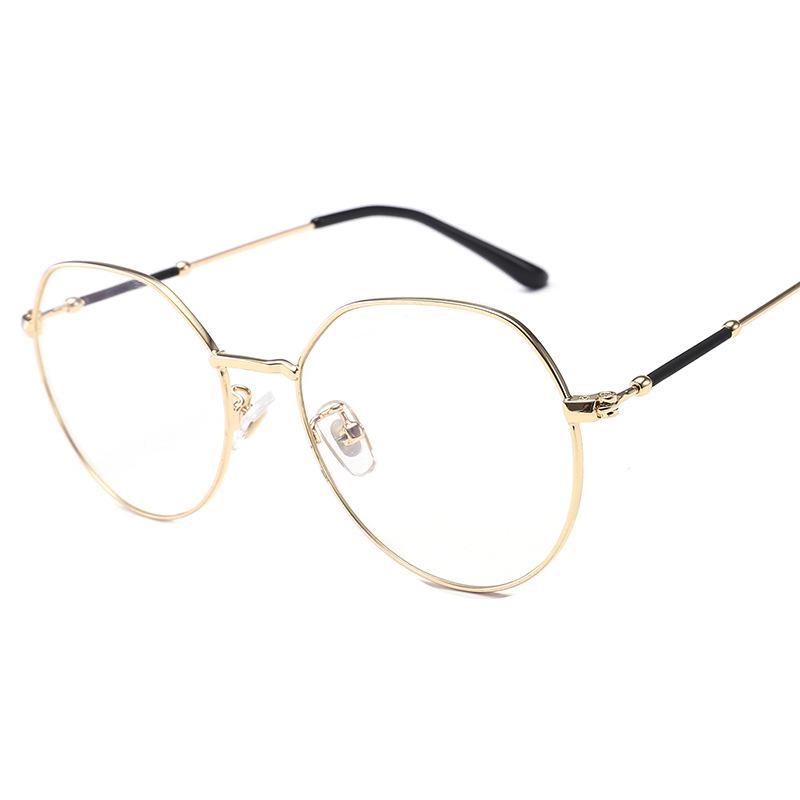 Retro gözlük çerçeve köşeli Metal optik gözlük Unisex moda güneş gözlüğü  gözlük – online alışveriş sitesi Joom'da ucuza alışveriş yapın
