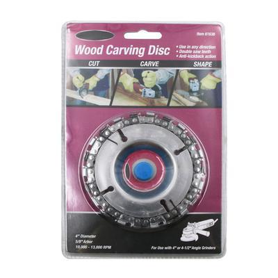 Hardware Streng Holzbearbeitung Kette Platte Winkel Schleifen Kettenrad Holz Carving Platte Für Winkel Grinder