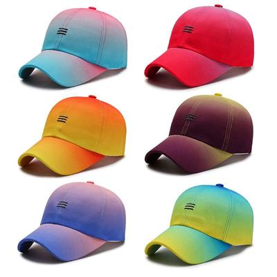 Summer Sunshade Breathable Cap Outdoor Sports and Leisure Vacation School Cotton Unisex Childrens Duckbill Cap