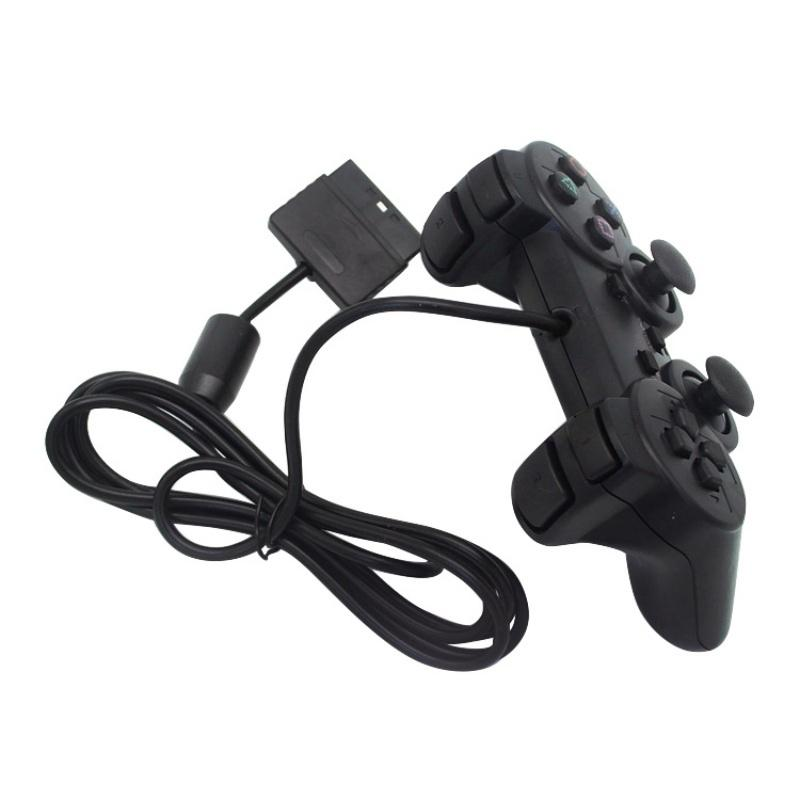 Wired Controller PS2 1.8M Double Shock Remote Joystick Gamepad – zu ...