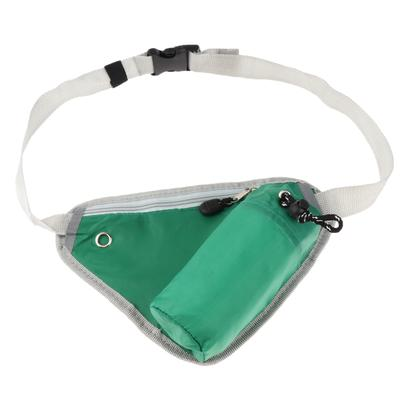Green Steam Train Sport Waist Packs Fanny Pack Adjustable For Run