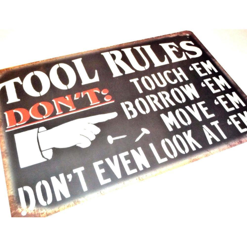 30x20 DAD/'S Garage Tin Sign Bar Pub Cafe Wall Decor Metal Art Poster Paintings C