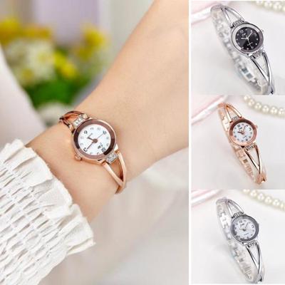 Ladie Wristwatch Luxury Bracelet Watch Stainless Steel Strap Elegant Women Watches Gift Clock