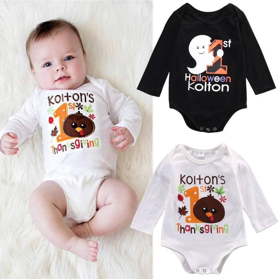 Girls or Boys Infant /& Toddler Onecie Halloween Bodysuits