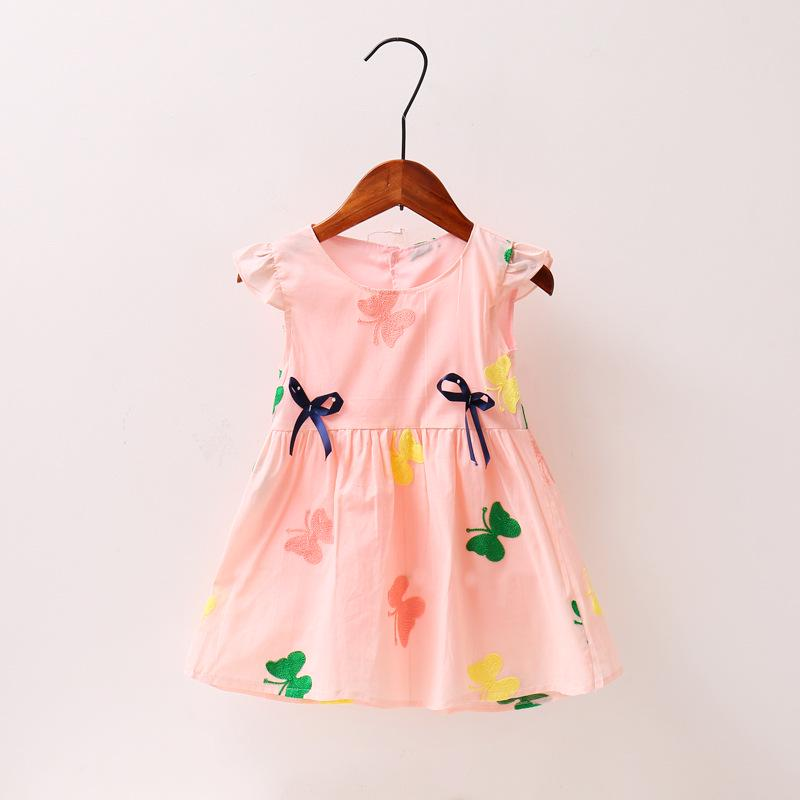 Niños bebé niñas vestido de fiesta de princesa la moda del bordado ...