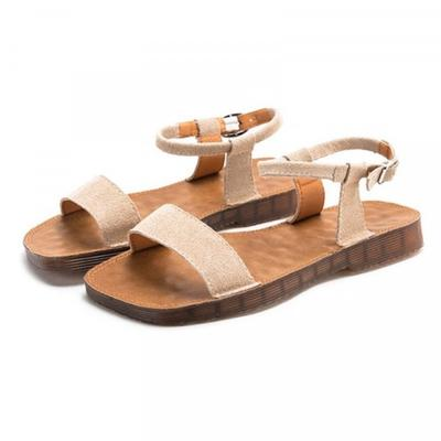 Sandals Casual Outdoor Simple Sandals for Women Wear-resistant Non-slip  Apricot Size 37-buy at a low prices on Joom e-commerce platform