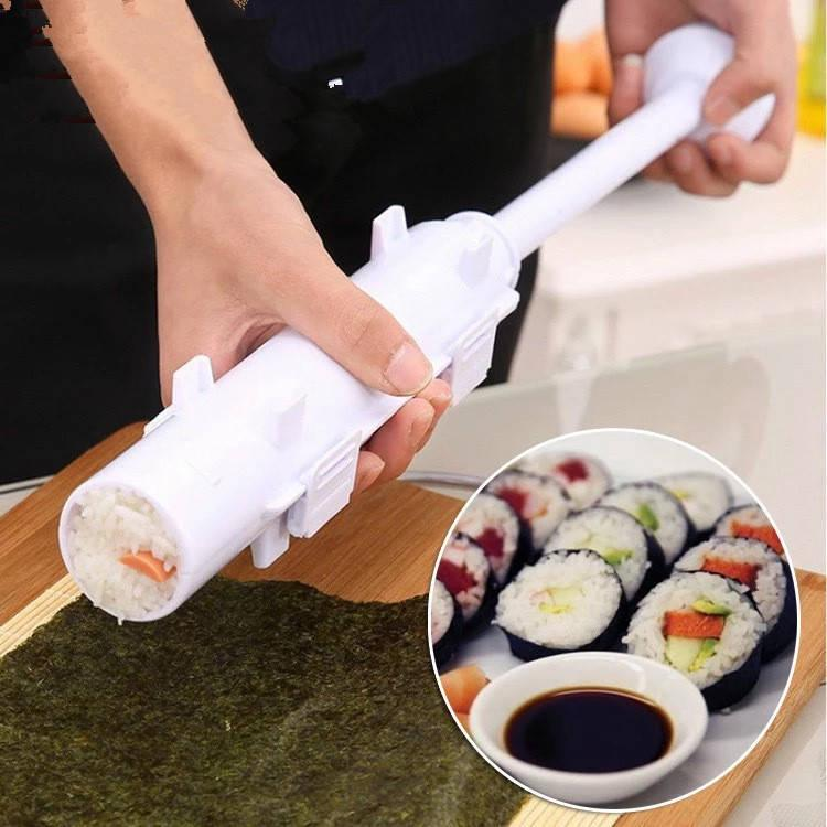 Buy DIY Sushi Maker Roller Rice Mold Sushi Bazooka Vegetable Meat Rolling  Tool Sushi Making Machine at affordable prices — free shipping, real  reviews with photos — Joom