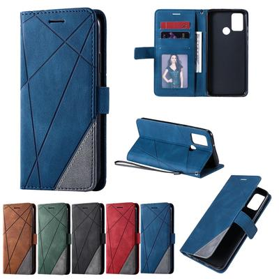 Luxury Flip Cover Leather Phone Case for iPhone 7 8 XR XS 11 Samsung S9 S10 J6 Huawei P10 P30 Xiaomi 9T Redmi 7A 8a Wallet Card Slot Stand Cover