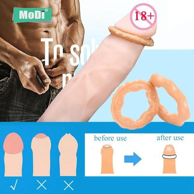 Male Foreskin Rings Penis Sleeve Scrotum Rings Men Sex Toys Testicle Cock Ring Male Delay Ejaculation