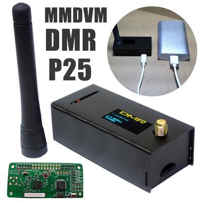 Duplex Mmdvm Hotspot Support P25 Dmr Ysf +Raspberry Pi + Antenna +