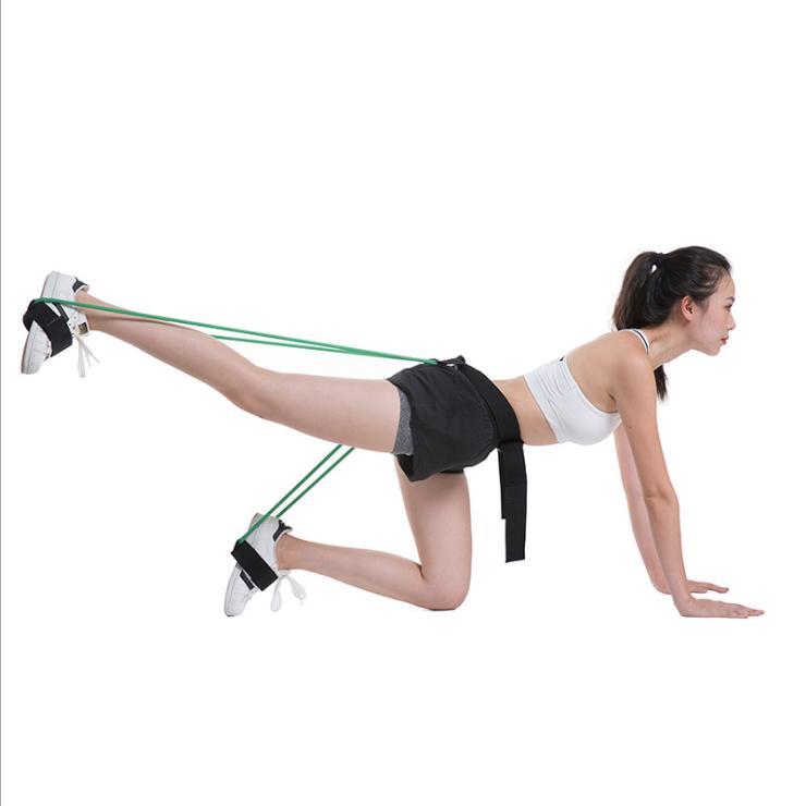 Women 30lb Hip Trainer Butt Booty Belt Band Body Glute Muscles Trainer Lifter