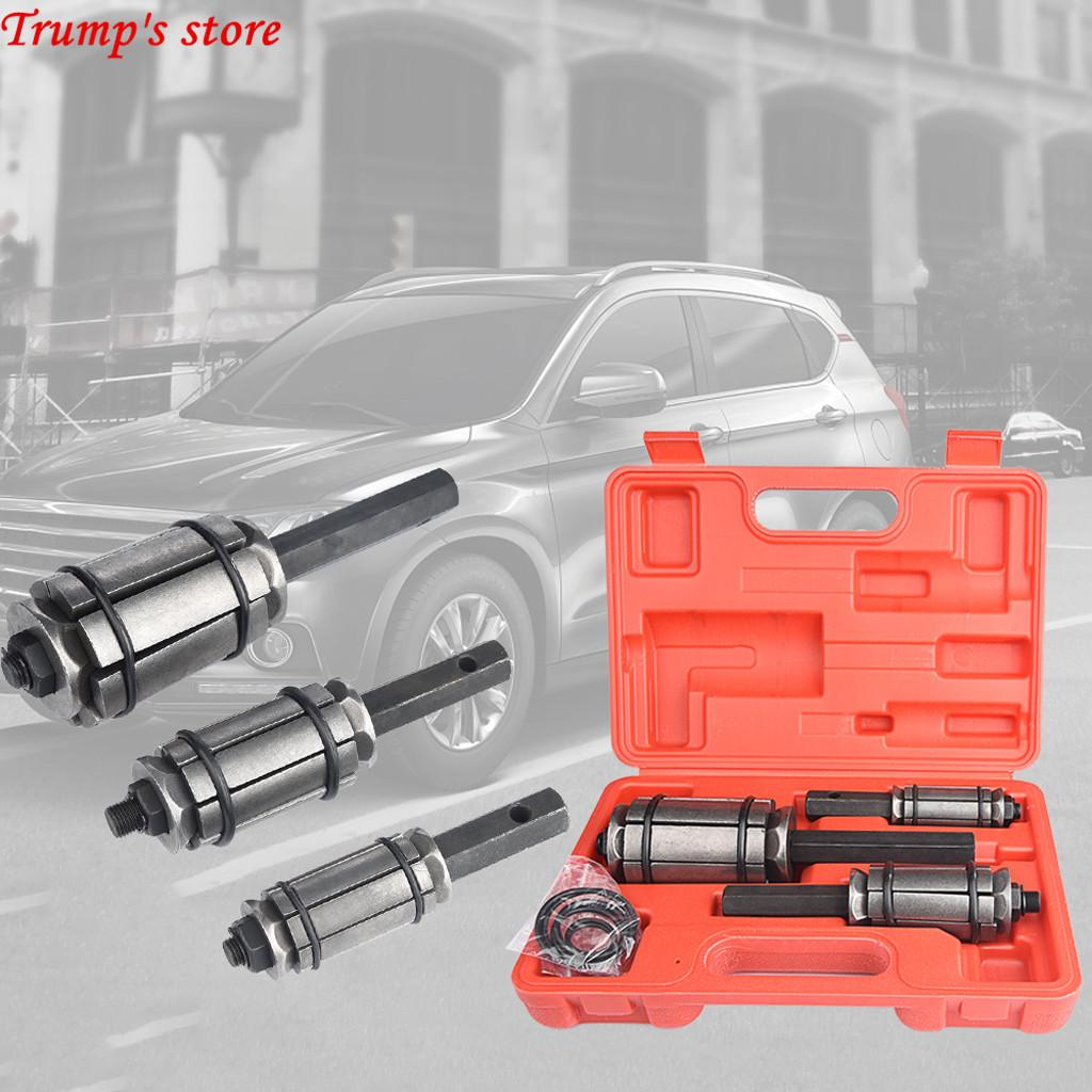 1//8 to 3 Exhaust Muffler New w//Case 3pc Tail Pipe Tailpipe Expander Set 1 1//2