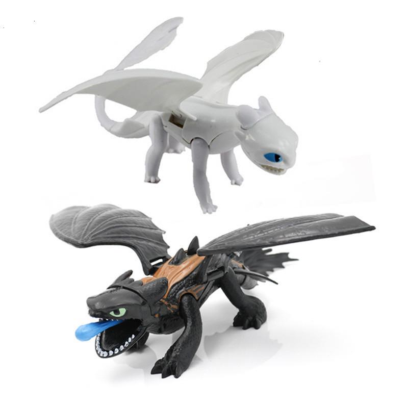 7PCS How To Train Your Dragon Figurines Play Action Figure Toys Christmas Gifts
