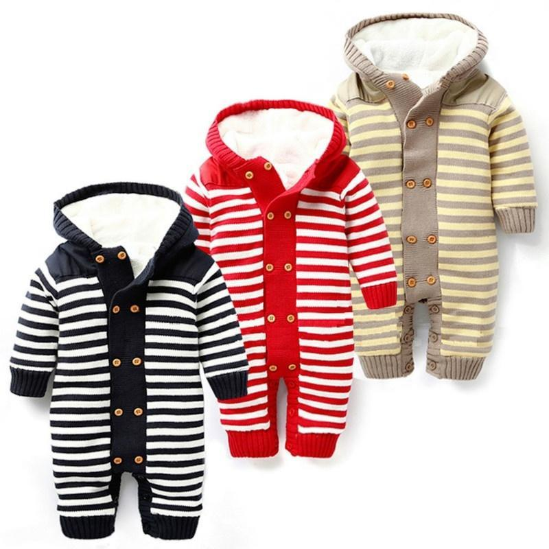 Rebeca ZS bebé mameluco polar grueso caliente para invierno niños ... 664592b6a571