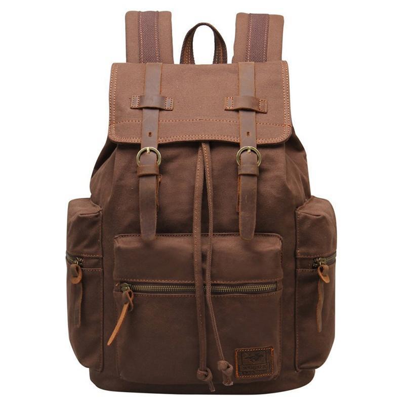 Retro Vintage viaje lona mochila mochila mochila escuela deporte bolsa de  senderismo - comprar a precios bajos en la tienda en línea Joom b0f58e891ca8e