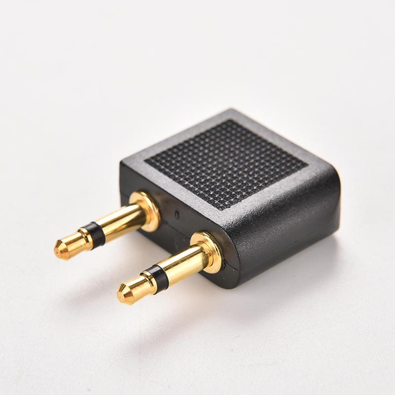 3.5mm Stereo AUX Jack 2 Male To 1 Female F Splitter Headphone Audio Adaptor 107