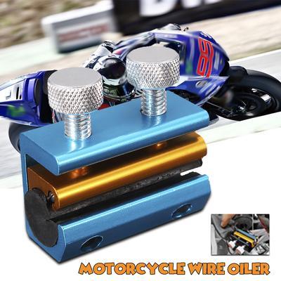 eb8b22160 Motocicleta fio lubrificador cabo ferramenta LubeAluminium injector moto  lubrificação